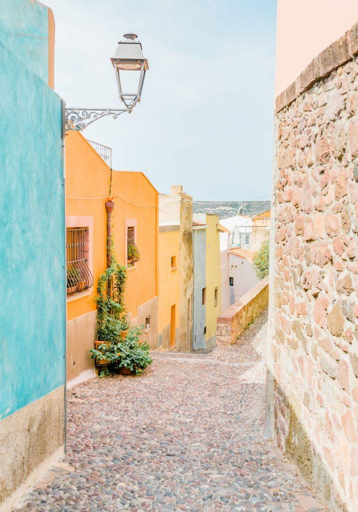 Streets of Sardinia A4